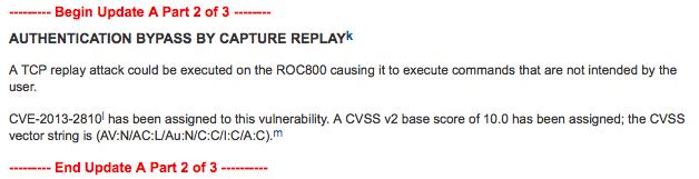 ROC update 2