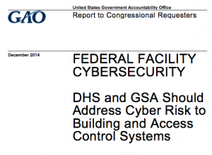 GAO buildings report cover